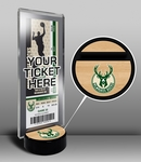 Milwaukee Bucks Ticket Display Stand