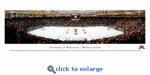 Minnesota Golden Gophers Hockey - Panoramic Photo (13.5 x 40)