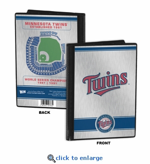 Minnesota Twins 4x6 Mini Photo Album