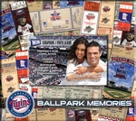 Minnesota Twins 8 x 8 Scrapbook - Ticket & Photo Album