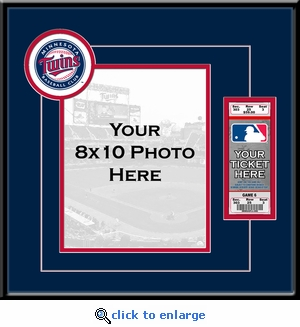 Minnesota Twins 8x10 Photo Ticket Frame