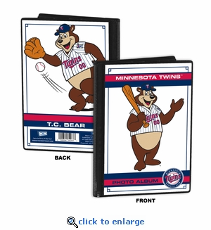 Minnesota Twins Mascot 4x6 Mini Photo Album - TC Bear
