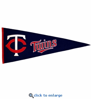 Minnesota Twins Traditions Wool Pennant (13 x 32)