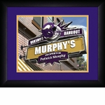 Minnesota Vikings Personalized Sports Room / Pub Print
