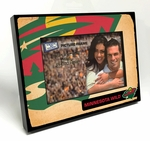 Minnesota Wild Vintage Style Black Wood Edge 4x6 inch Picture Frame