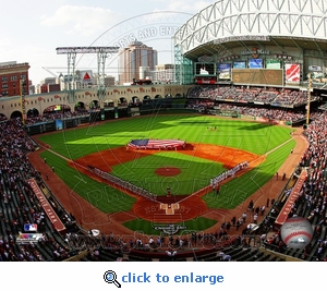 Minute Maid Park Opening Day 2010 8x10 Photo - Houston Astros