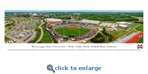 Mississippi State Bulldogs Baseball - Super Bulldog Weekend - Panoramic Photo (13.5 x 40)