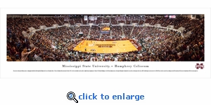 Mississippi State Bulldogs Basketball - Panoramic Photo (13.5 x 40)