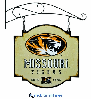 Missouri Tigers 16 X 16 Metal Tavern / Pub Sign