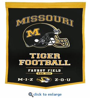 Missouri Tigers Powerhouse Wool Banner (18 x 27)
