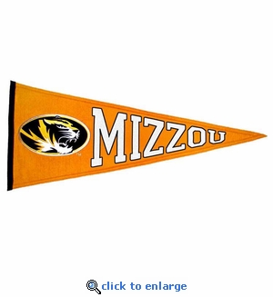 Missouri Tigers Traditions Wool Pennant (13 X 32)