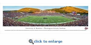 Montana Grizzlies Football - Panoramic Photo (13.5 x 40)