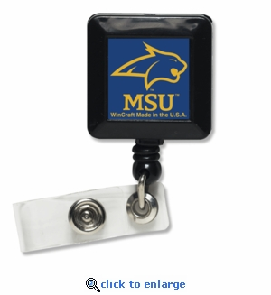 Montana State Bobcats Retractable Ticket Badge Holder
