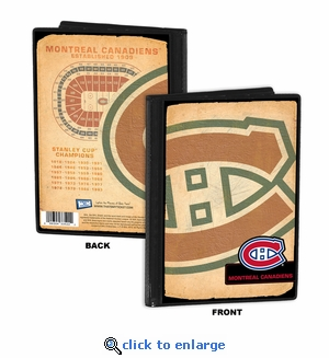 Montreal Canadiens 4x6 Photo Album / Brag Book