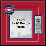 Montreal Canadiens 8x10 Photo Ticket Frame