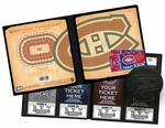 Montreal Canadiens Ticket Album
