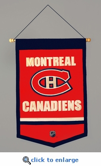 Montreal Canadiens Traditions Wool Banner (12 x 18)
