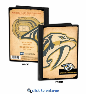 Nashville Predators 4x6 Photo Album / Brag Book