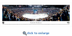 Nashville Predators - Panoramic Photo (13.5 x 40)