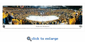 Nashville Predators - Playoffs - Panoramic Photo (13.5 x 40)
