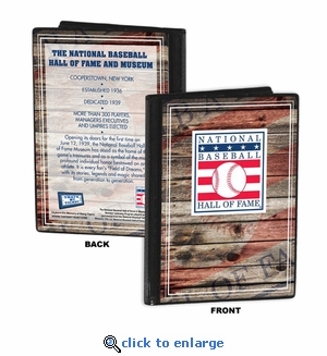National Baseball Hall of Fame 4x6 Photo Album