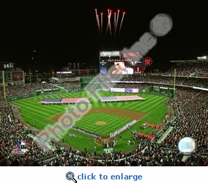 Nationals Park 2008 Inaugural Game 8x10 Photo