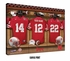Nebraska Cornhuskers Personalized Football Locker Room Print