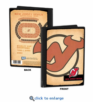 New Jersey Devils 4x6 Photo Album / Brag Book