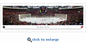 New Jersey Devils - Center Ice - Panoramic Photo (13.5 x 40)