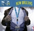 New Orleans Hornets NBA Lanyard Key Chain and Ticket Holder - Teal