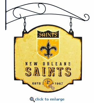 New Orleans Saints 16 X 16 Metal Tavern / Pub Sign