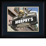 New Orleans Saints Personalized Sports Room / Pub Print