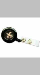 New Orleans Saints Retractable Ticket Badge Holder