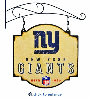 New York Giants 16 X 16 Metal Tavern / Pub Sign