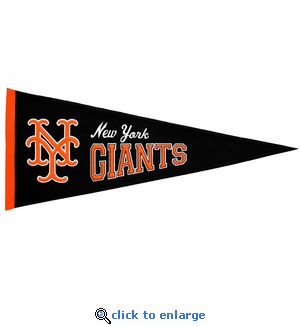 New York Giants Cooperstown Wool Pennant (13 x 32)