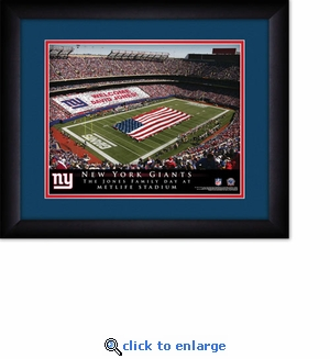 New York Giants Personalized MetLife Stadium Print