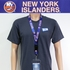New York Islanders NHL Lanyard Key Chain with Ticket Holder