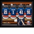 New York Islanders Personalized Locker Room Print