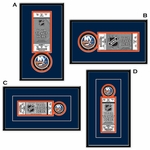 New York Islanders Single Ticket Frame