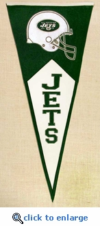 New York Jets Classic Wool Pennant (17.5 X 40.5)