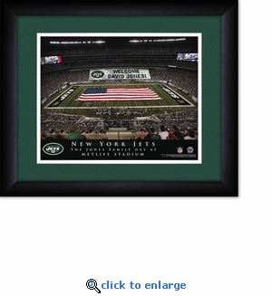 New York Jets Personalized MetLife Stadium Print
