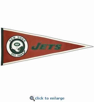 New York Jets Pigskin Pennant (13 x 32)