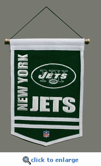 New York Jets Traditions Wool Banner (12 x 18)