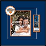 New York Knicks 8x10 Photo Ticket Frame