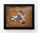 New York Knicks State of Mind Framed Print