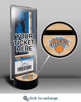 New York Knicks Ticket Display Stand