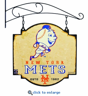 New York Mets 16 X 16 Metal Tavern / Pub Sign