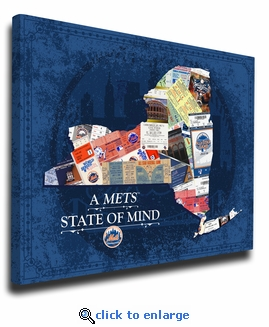 New York Mets State of Mind Canvas Print