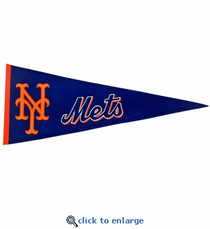 New York Mets Traditions Wool Pennant (13 x 32)