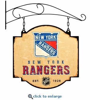 New York Rangers 16 X 16 Metal Tavern / Pub Sign